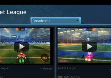 Steam Android Broadcasts