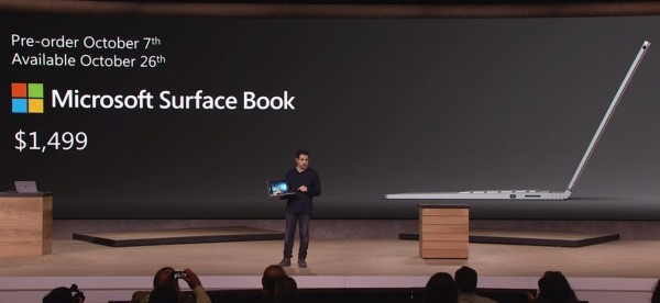 Surface Book Pricing and Availability