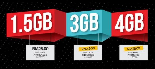 XOX Data Plan Promotion