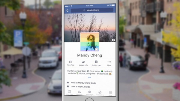 Facebook Redesigns User Profile Pages on Mobile, Testing Video Profile Pictures
