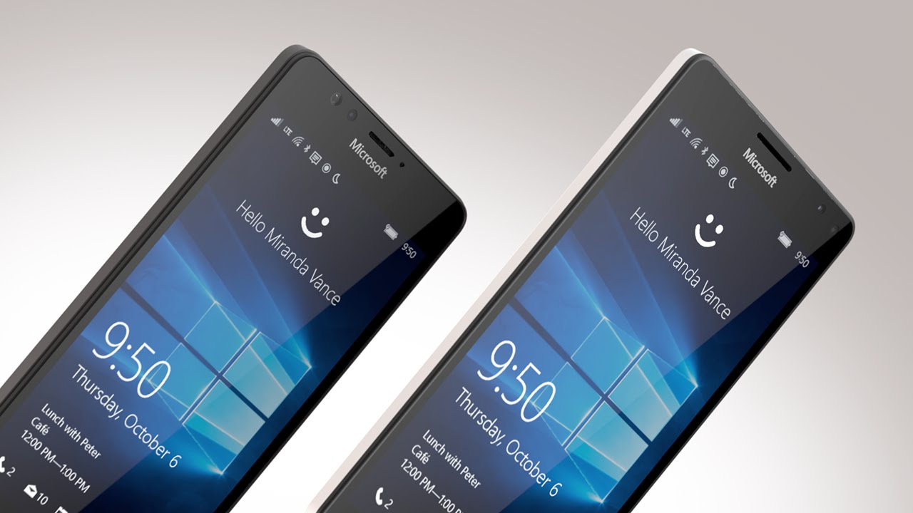 Microsoft Unveils Liquid-Cooled Lumia 950 and 950 XL Smartphones, Powered by Windows 10
