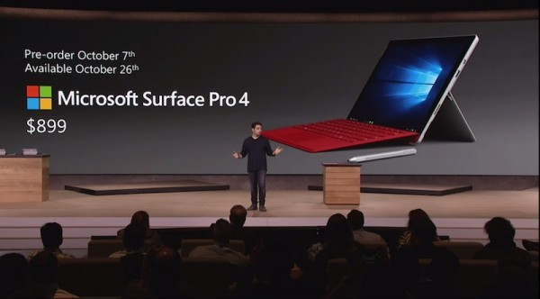 Microsoft Announces Surface Pro 4 With Windows 10 And
