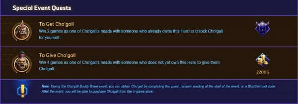 Cho'Gall Event Quest