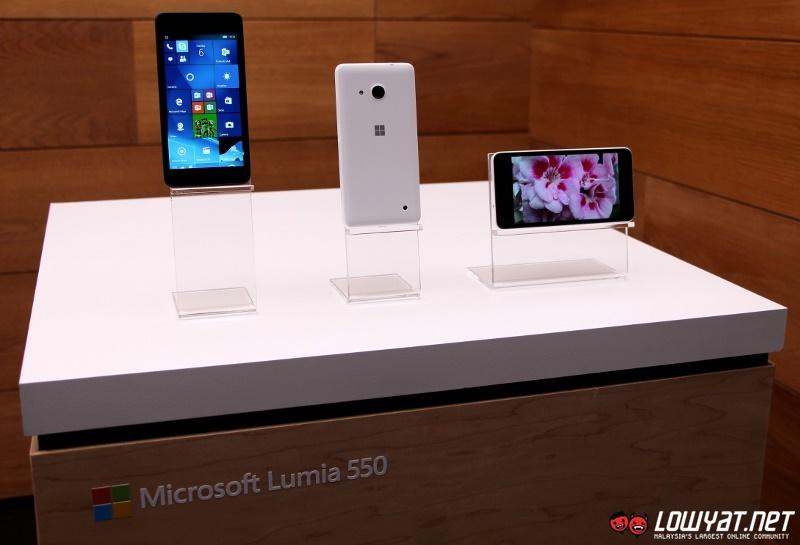 Microsoft Lumia 550 Eyes On 01