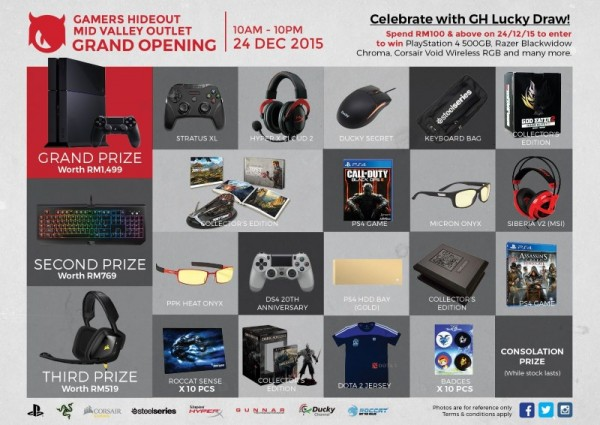 GH Mid Valley Grand Opening Lucky Draw