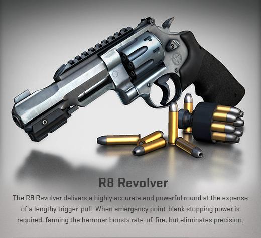 CS GO R8 Pistol