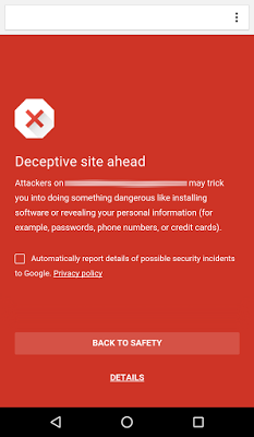 Chrome Android Block