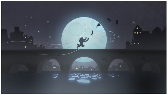 Google Doodle Beethovan moonlight sonata