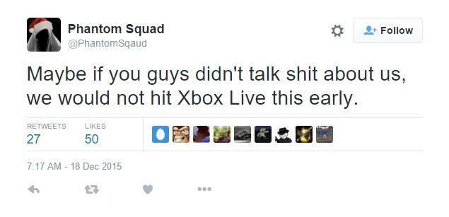 Phantom Squad Xbox Live
