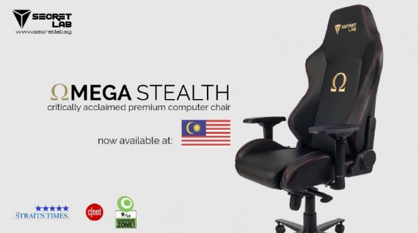 Secretlab Omega Stealth MY