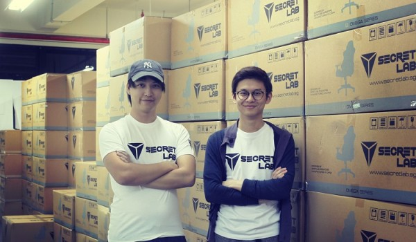 Secretlab founders small