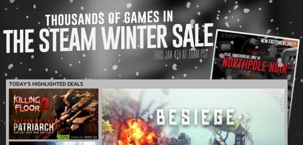 Steam 2015 Winter Sale