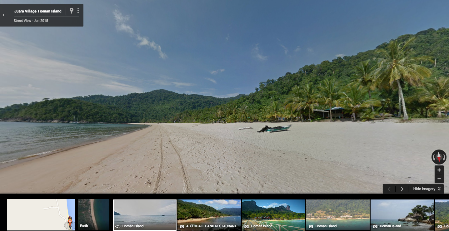 how to search on google maps street view