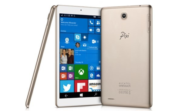 Alcatel OneTouch Pixi 3 Windows 10 Mobile Tablet
