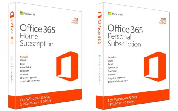 Microsoft Office 365 Home and Personal