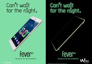 Wiko Fever Glow-In-The-Dark Smartphone