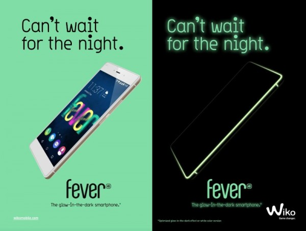 Wiko Fever Glow-In-The-Dark Smartphone