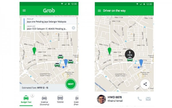 Grab Malaysia For Android