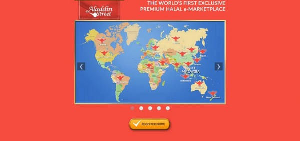 Aladdin Street Frontpage