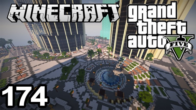 Fans Are Recreating The Entire GTA V Map In Minecraft  LowyatNET