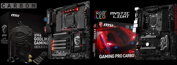 msi carbon edition motherboards