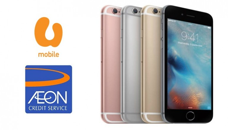 U Mobile Ropes In AEON Credit For Its iPhone MicroCredit