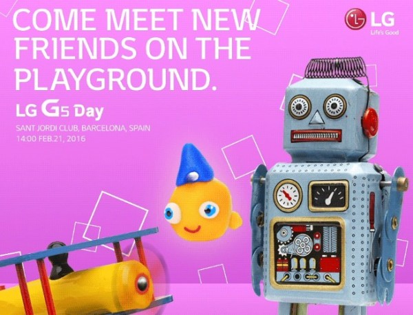 LG G5 Launch MWC 2016