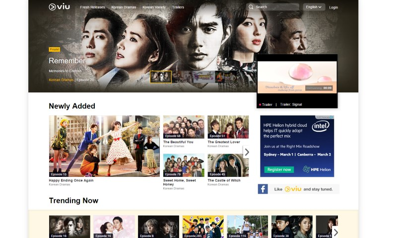 Viu Korean Content Streaming Service