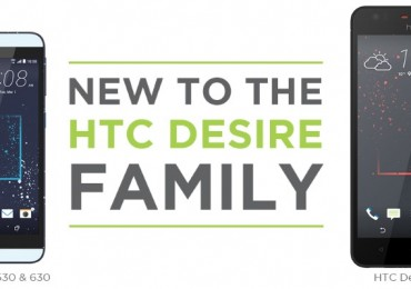HTC Desire 825, 630, and 530
