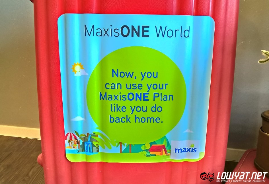 MaxisONE World Pass