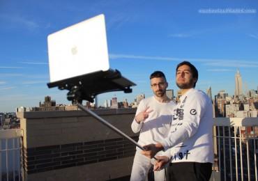 MacBook Selfie Stick