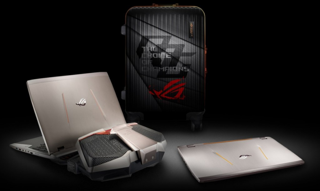 ASUS ROG GX700 Liquid-Cooled Gaming Laptop