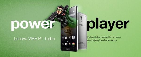 Lenovo Vibe P1 Turbo Indonesia Promo