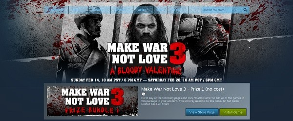 Sega Make War Not Love 3 Bundle