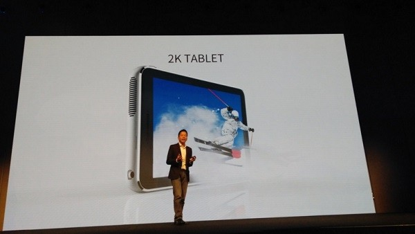 ZTE Spro Plus MWC 2016 on stage