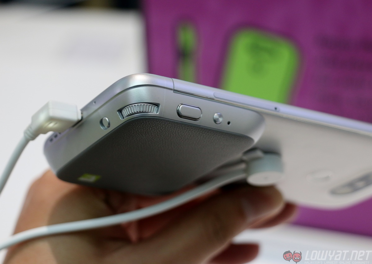 LG G5 Hands On: Great Ideas In Need of Better Design ...