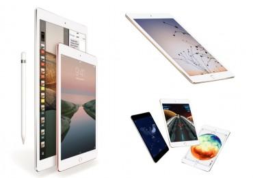 Apple iPad Pro vs iPad Air 2 vs iPad Mini 4