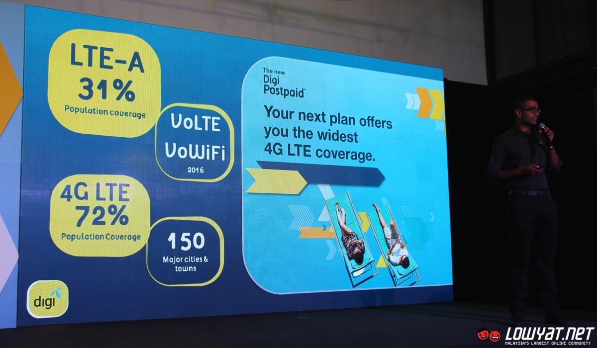 DiGi LTE Coverage - March 2016