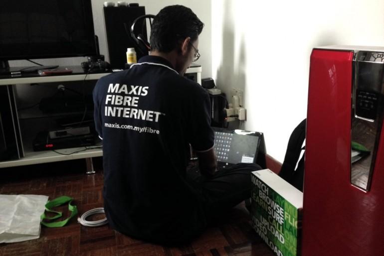 Maxis Fibre Internet