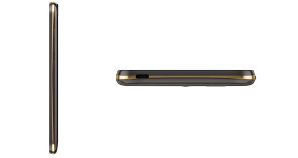 Acer Liquid Z630s Side Profile