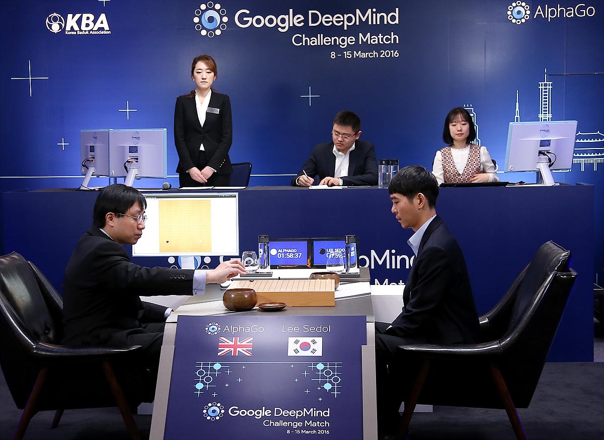 AlphaGo Google Deepmind Challenge