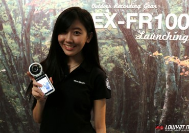 Casio EXILIM EX-FR100 Hands On 02