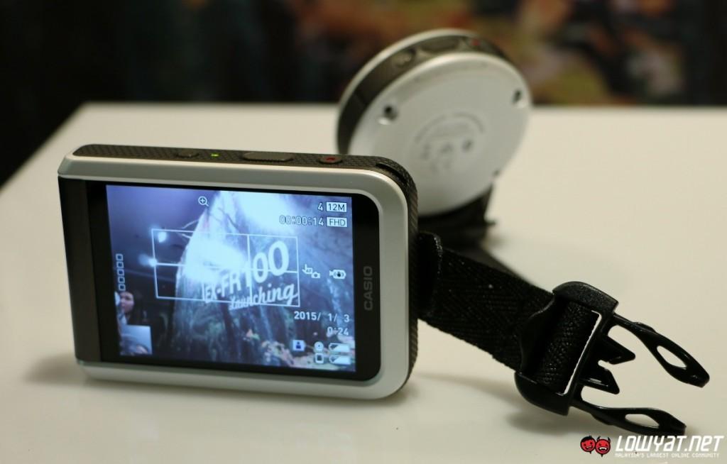 Casio EXILIM EX-FR100 Hands On 14