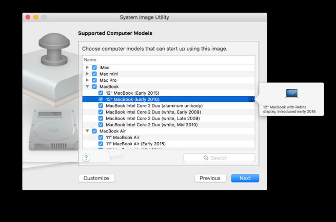 Mac OS X Server MacBook Listing