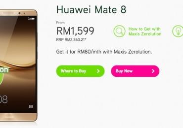 Maxis Huawei Mate 8