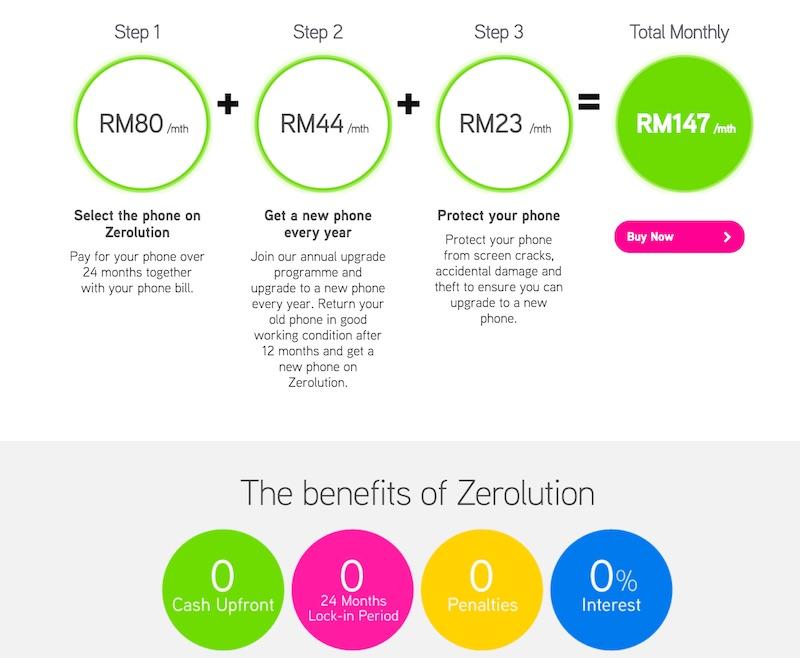 Maxis Huawei Mate 8 Zerolution