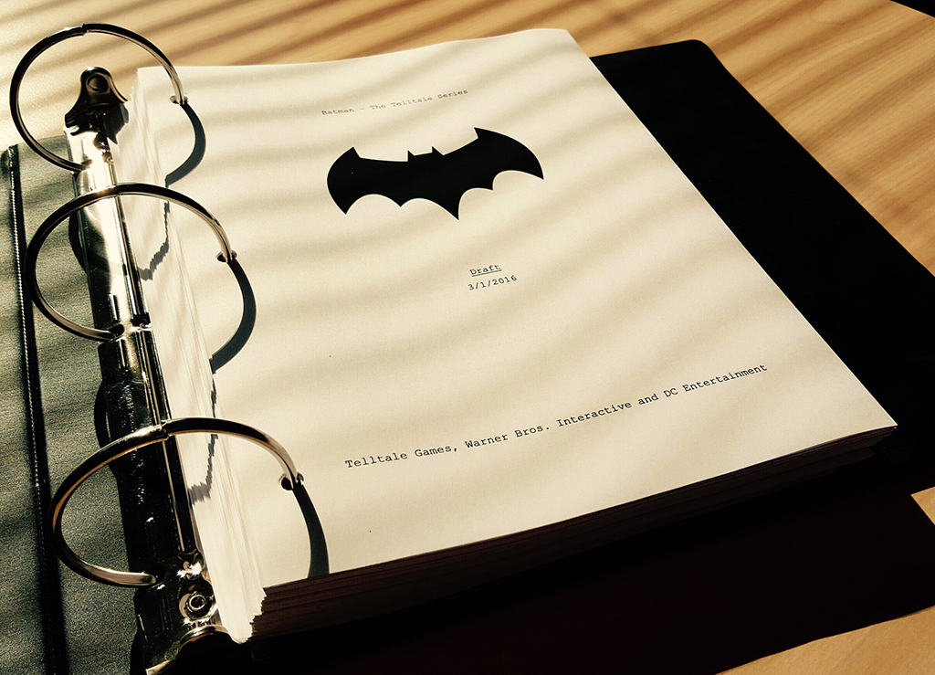 Telltale Batman Script