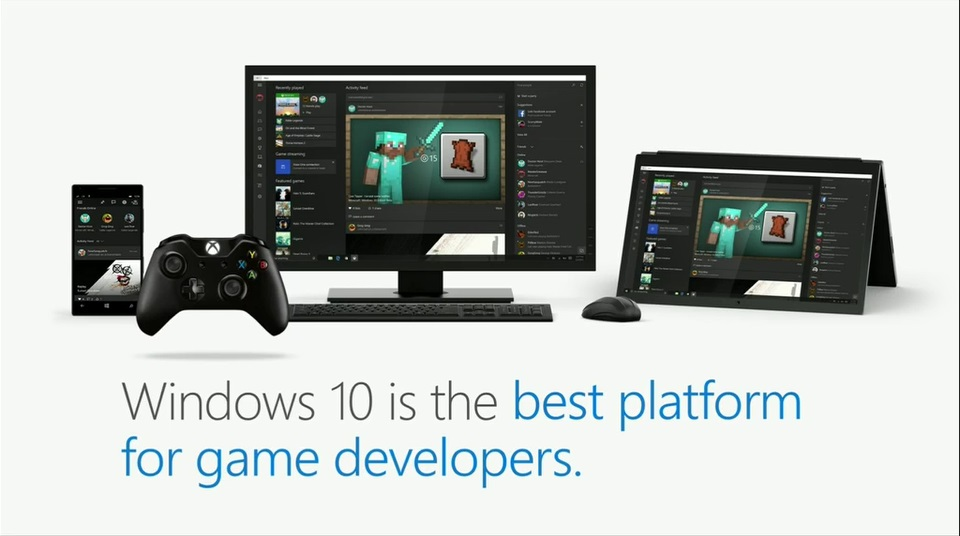 Windows 10 is best for game developers