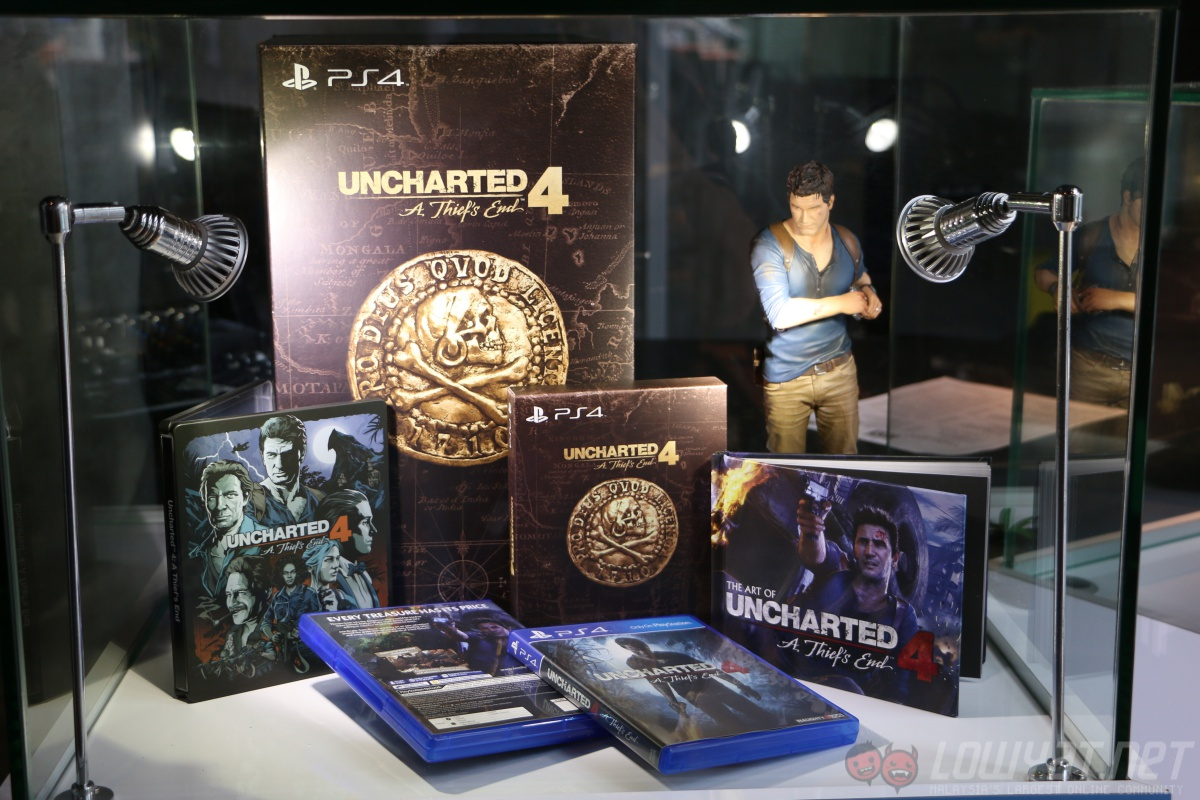 A Closer Look At The Limited Edition Uncharted 4 Ps4 Console