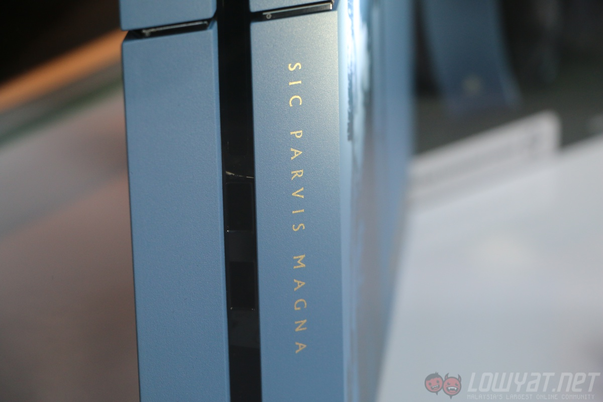 a closer look at the limited edition uncharted 4 ps4. Black Bedroom Furniture Sets. Home Design Ideas